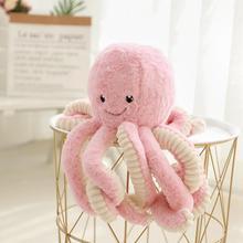 Plush Stuffed Simulation-Octopus Doll Pendant Home-Accessories Soft Animal 1pc 18cm Toy