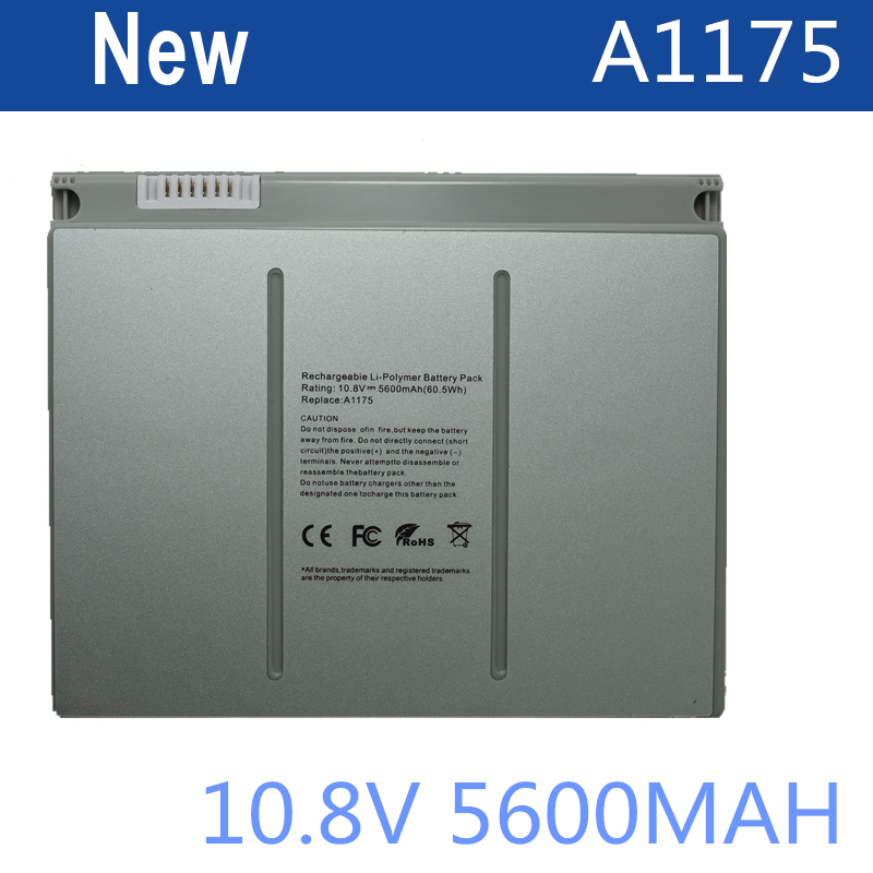 HSW 10.8v 60Wh Laptop Battery A1175 MA348 For Apple MacBook Pro 15 A1150 A1260 MA463 MA464 MA600 MA601 MA610 MA609 a1175 ma348 original laptop battery for apple macbook pro 15 a1150 a1211 a1226 a1260 ma463 ma464 ma600 ma601