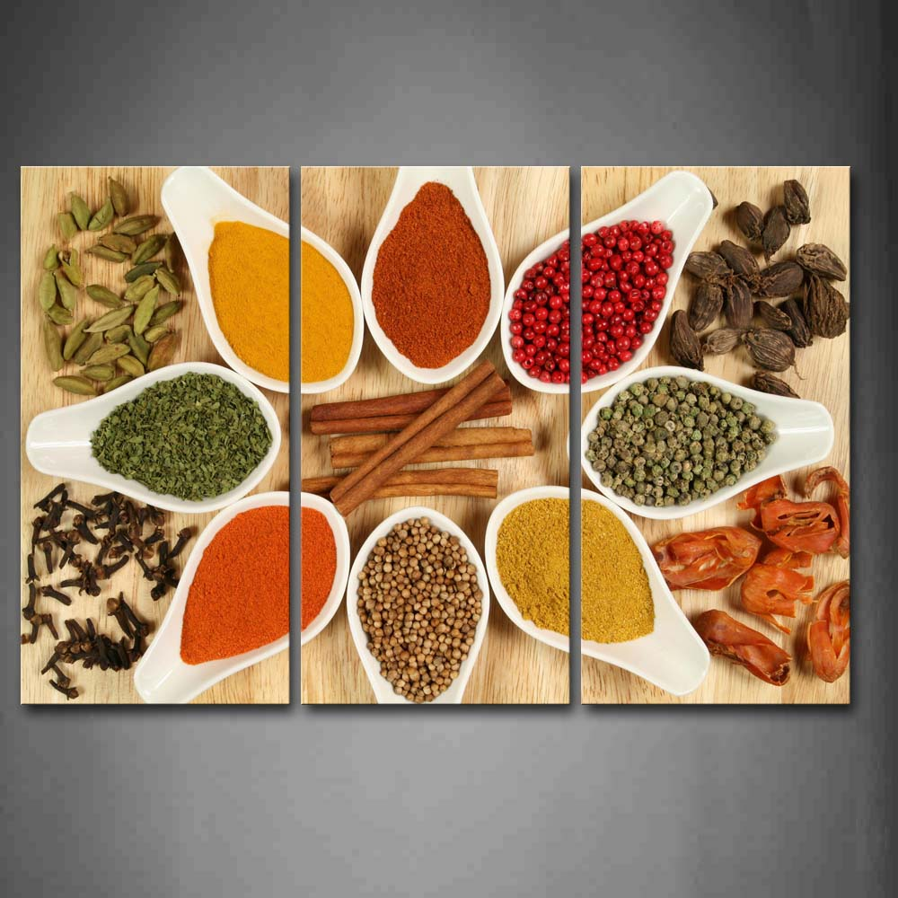 Framed Wall Art Pictures Ginger Power Spice Table Canvas Print Food Posters With Wooden Frame For Home Living Room DecorFramed Wall Art Pictures Ginger Power Spice Table Canvas Print Food Posters With Wooden Frame For Home Living Room Decor