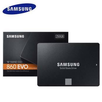 Samsung 500GB SSD Flash Memory HDD Disk 1TB 2TB 4TB Promotional Dropshipping Solid State Drive 860 EVO V-NAND 2.5 SATA III 250G