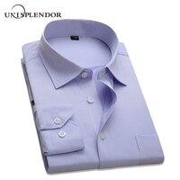 2017 New Arrival Classic Men S Business Shirts Long Sleeve Formal Cotton Shirt Men Slim Fit