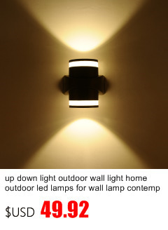 Led varanda luzes do corredor moderno design