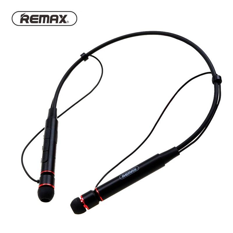 Remax Wireless Stereo Sport Neckband Bluetooth Musik kopfhörer HD Mic Multi Verbindungen für iphone RB-S6 + Einzelhandel paket
