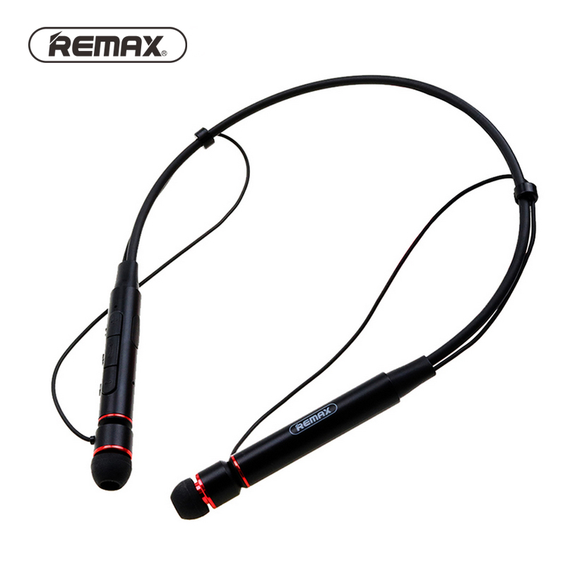 Remax Wireless Stereo Sports Neckband Bluetooth Music earphone HD Mic Multi Connections for iphone RB-S6 + Retail package