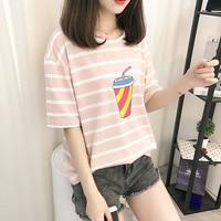 t shirt summer korean tshirt cotton t shirt women tops 2019