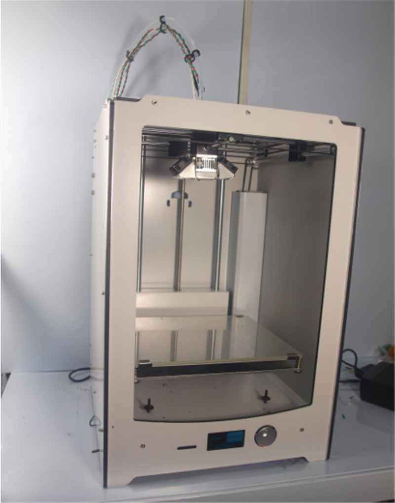 Funssor Quality UM2 extended 3D printer full kit(not assemble) with master single nozzle