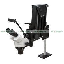 Микро Инкрустированные Зеркало разнонаправленного Микро-установка Микроскоп Ювелирных Изделий Инструменты ЭКО