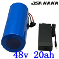 48 V 1000 W batterij 48 v 20ah elektrische fiets batterij 48 V 20AH lithium ion batterij met 30A BMS en 54.6 V 2A charger duty gratis