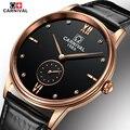 Carnival relógio de pulso dos homens 2017 top marca de luxo famoso relógio de pulso de quartzo-relógio relogio masculino relógio masculino relógio de quartzo hodinky