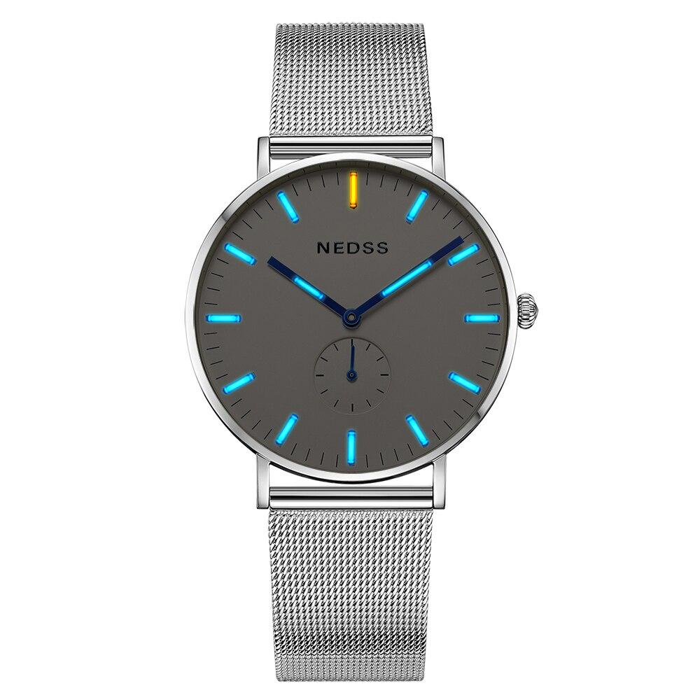 Женские часы браслет дамы Тритий женщин часы лучший бренд класса люкс DW просто смотреть сапфировое стекло 50 м водонепроницаемый
