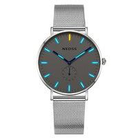 Женские часы  часы-браслет  женские часы tritium  Топ бренд класса люкс  DW  простые часы с сапфировым стеклом  50 м  водонепроницаемые