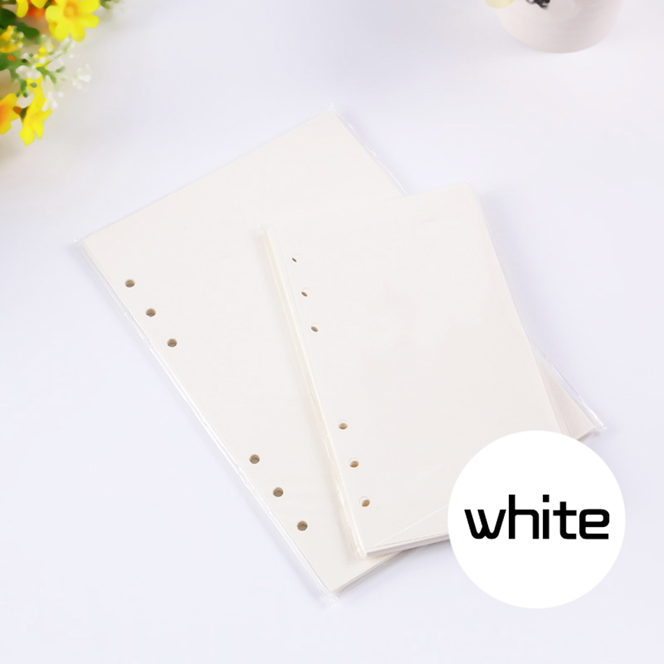 Mode Färgglada Anteckningsböcker Tillbehör A5 A6 Solid Färg - Block och anteckningsböcker - Foto 5