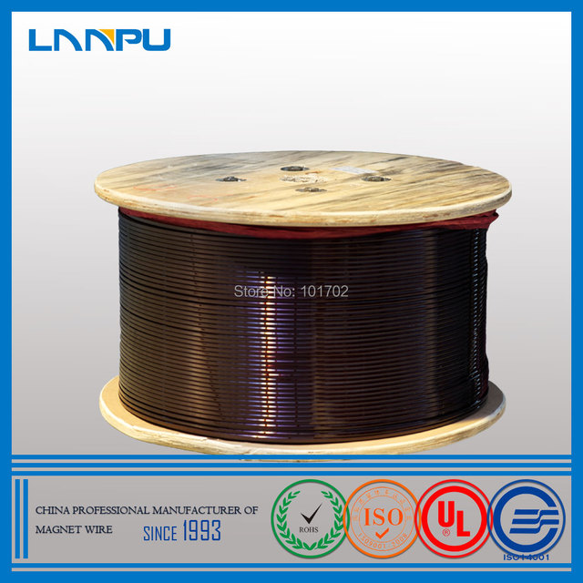 Best Price Polyamide/ Polyester Motor Winding Wire Enamelled Flat ...