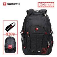 New1680D Swissgear Laptop Backpack SW8110I Waterproof Business Traveler Backpack Men Daily Backpack Rukzak Swiss