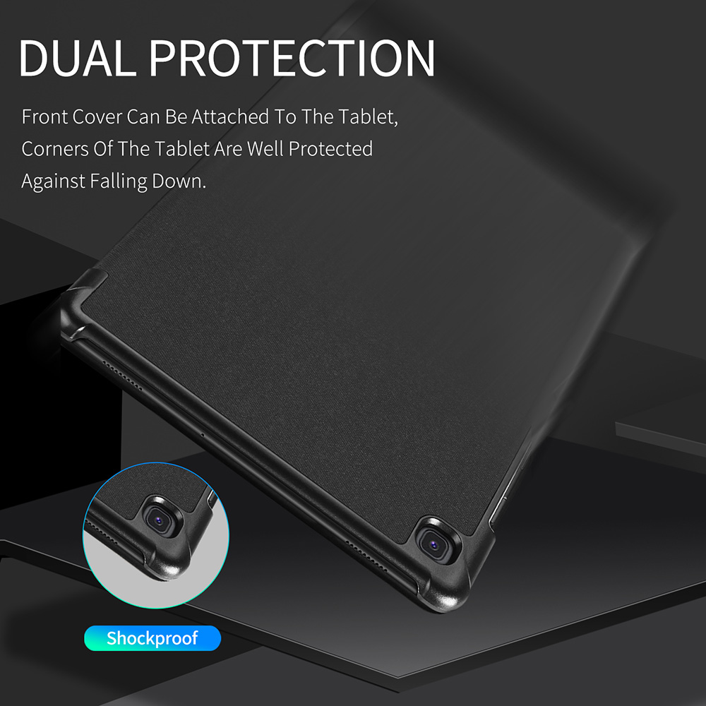 DUX DUCIS PU Leather Flip Case For Samsung Galaxy TAB S5E Smart Protective Cover For Samsung TAB S5E S5 E 10.5 Inch 2019 New