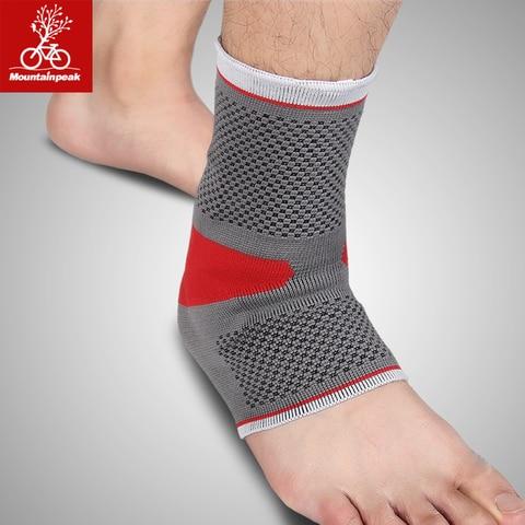 Proteção do pé Capa de pé Mountainpeak Malleolus Proteger Silicone Pulso Proteção Conjunta Nua Esportes Tornozelo pé