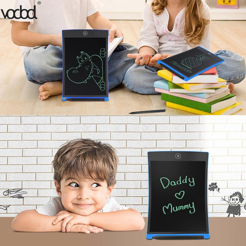 8.5 Inches Portable Smart LCD Writing Tablet Electronic Notepad Digital Writer Handwriting Paperless Notepad Drawing Graffiti