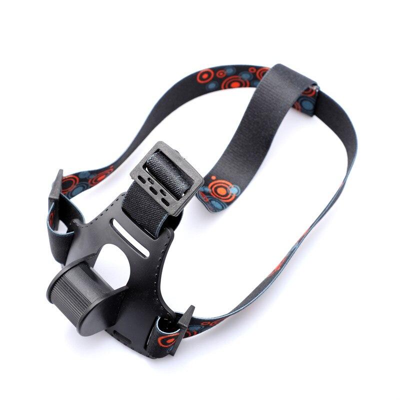 New Headband//Helmet Strap Mount Head Strap For Bike LED Headlamp Torch Light