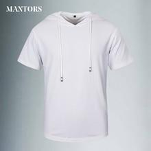 Summer Men T Shirts Hoody TShirt Mens Clothes Solid Sportwear tops&tees Fashion New Brand Short Sleeve Tee Shirt Homme De Marque