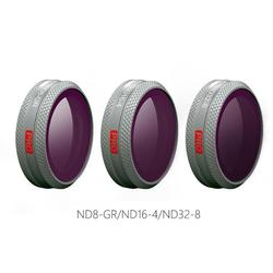 3 Pcs Professional Version PGYTECH Filter GND Set ND8-GR ND16-4 ND32-8 Drone Lens for DJI MAVIC 2 ZOOM