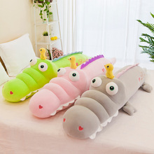 70/90/130cm Stuffed Animal New Crocodile Plush Toy Simulation Big Eyes Dolls Kawaii Pillow for Girls Birthday Gifts