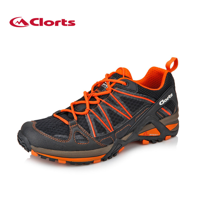 2018 Clorts Mens Trail Running Shoes For Outdoor Breathable Light Weight Sports  Shoes Green Red For