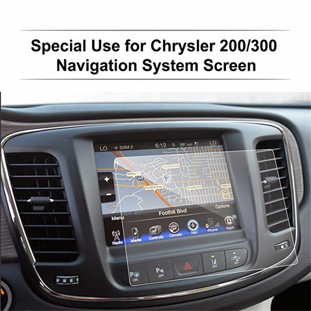 For Chrysler 200/300 / Pacifica 8.4 Inch Car Navigation Screen Protector Tempered Glass Touch Screen Protector 1