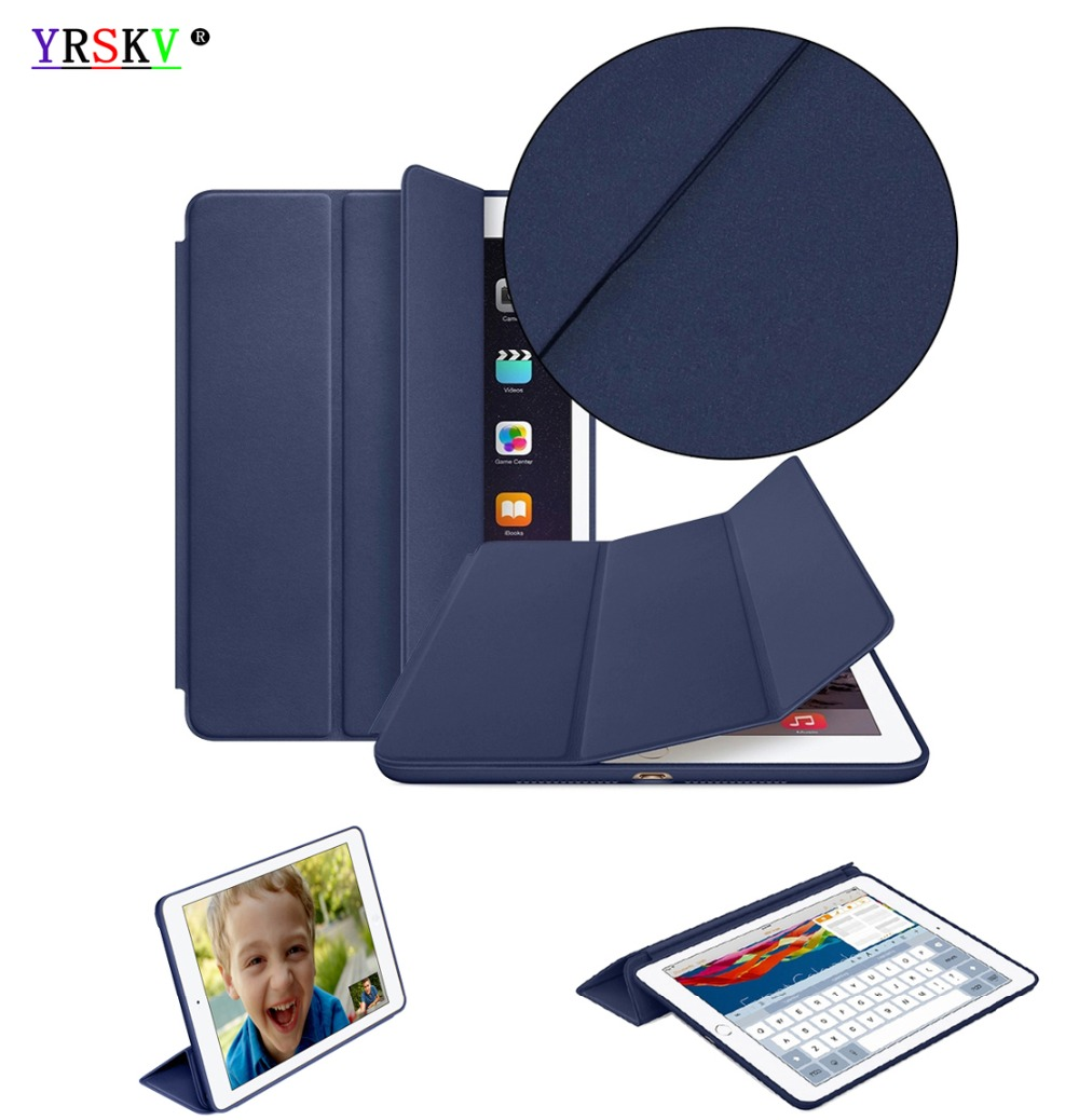 где купить Case for apple iPad mini 4 YRSKV Smart case Original 1:1 Ultra Slim Light weight Smart Auto Sleep Wake Tablet shell дешево