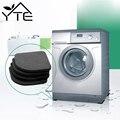 4 pcs Máquina de Lavar Roupa Anti Almofada de Vibração À Prova de Choque Antiderrapante Pé Pés Tailorable Mat Geladeira Móveis Protetores Chão