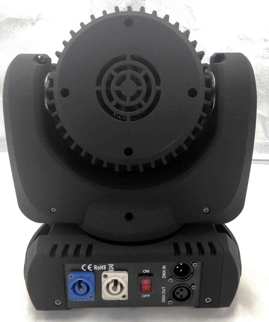 LED 12x12 W lavage LED orientable étape lumière rgbw RGBW 4in1 Quad lampe à LED avancé 9/16 DJ DMX canaux pour scène professionnelle - 2