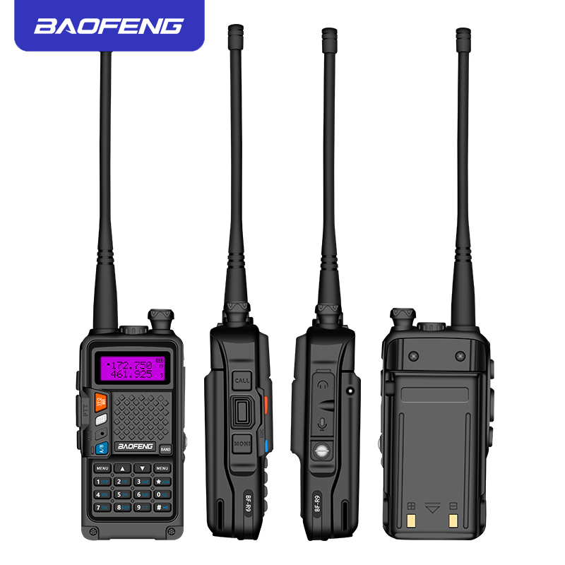 Image 4 - 2019 original BAOFENG BF R9 8W High Power UHF/VHF Dual Band 10KM Long Range Walkie Talkie 3800mAh Battery Handheld Radio-in Walkie Talkie from Cellphones & Telecommunications