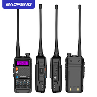 "vhf uhf 2019 המקורי Baofeng BF-R9 8W צריכת חשמל גבוהה UHF / VHF Dual Band 10 ק""מ ארוך טווח מכשיר הקשר 3800mAh סוללה רדיו כף יד (4)"