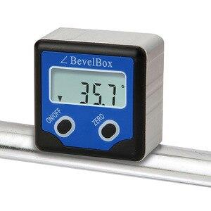 Image 5 - Inclinómetro de buscador de ángulos con 3 imanes de disco resistentes, caja de bisel Digital resistente al agua