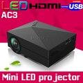 2016 GM60 AC3New Домашнего Кинотеатра HDgM60 портативный Видео ЖК-Цифровой HDMI Кино USB 1000 люмен мини СВЕТОДИОДНЫЙ Проектор Proyector Бимер