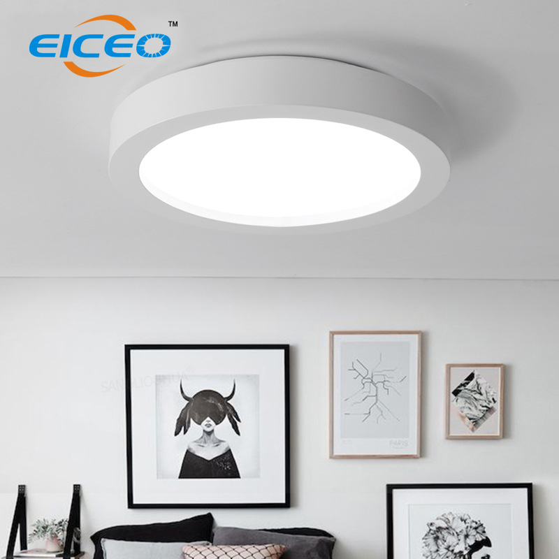 2018 hot selling led ceiling light dimmable luminaria lamparas de techo ceiling lights for living room in Ceiling Lights from Lights Lighting