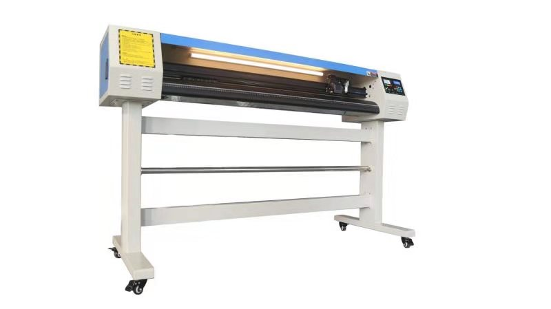 ZDP-980 Co2  Laser Cutting Plotter For Roll Paper