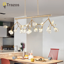 Buy modern chandelier and get free shipping on aliexpress led modern chandeliers lamp for living room bedroom lamparas colgantes nordic lustre luminaire industrial lighting fixtures aloadofball Images