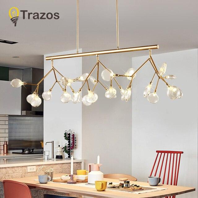 Led Modern Chandeliers Lamp For Living Room Bedroom Lamparas ...
