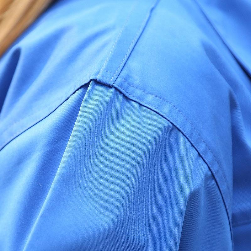 SET OF COAT+PANTS Anti-static work wear gas station coat sinopec coat anti-static work wear set mechanical short-sleeve uniform