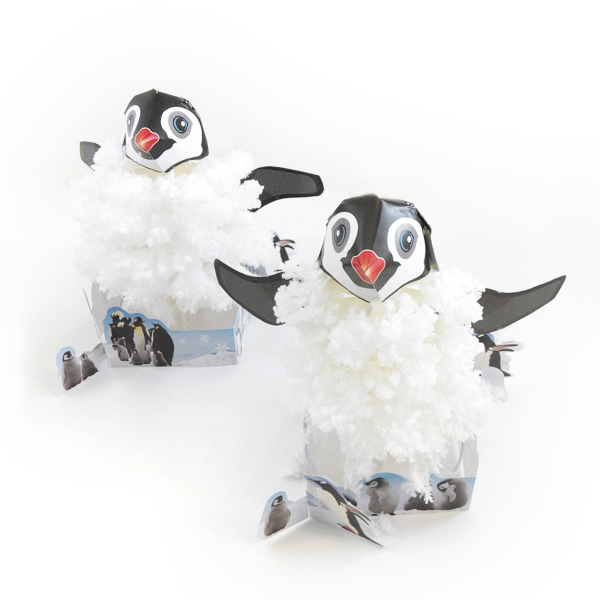 Tobar 2017 Visual DIY Magic Growing Penguin Paper Trees Magical Grow Tree Japanese Gags Gift Novelty