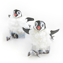 Tobar 2017 Visual DIY Magic Growing Penguin Paper Trees Magical Grow Tree Japanese Gags Gift Novelty Science Toys For Children