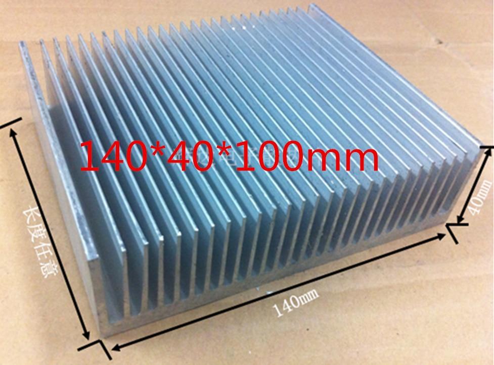 Free Ship Custom 140*40*100mm Inverter Dense Tooth Radiator.Heat sink Cooling block Electronic radiator custom free 100