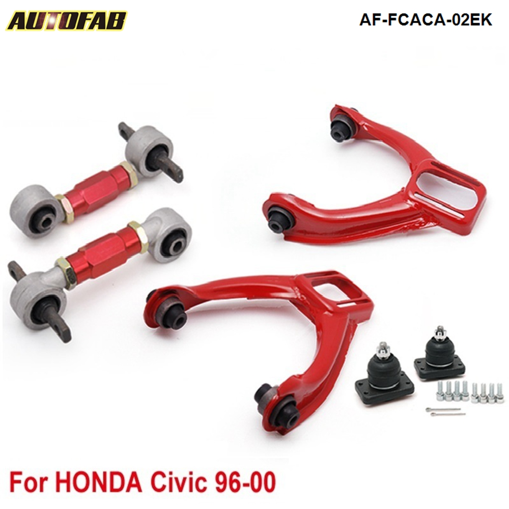 Front Camber Kits Rear Lower Control Arms Fits For civic 96 00 all model AF FCACA