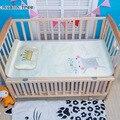 Ins cuna cama mat + pilow 1 unids bebé juego de Cama hoja de cama de bebé