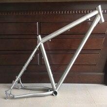 """PYTITANS абсолютно новая мода титановая рама для велосипеда 1"""" MTB стиль с рамкой для шоссейного велосипеда и вилкой продвижение по индивидуальному заказу"""