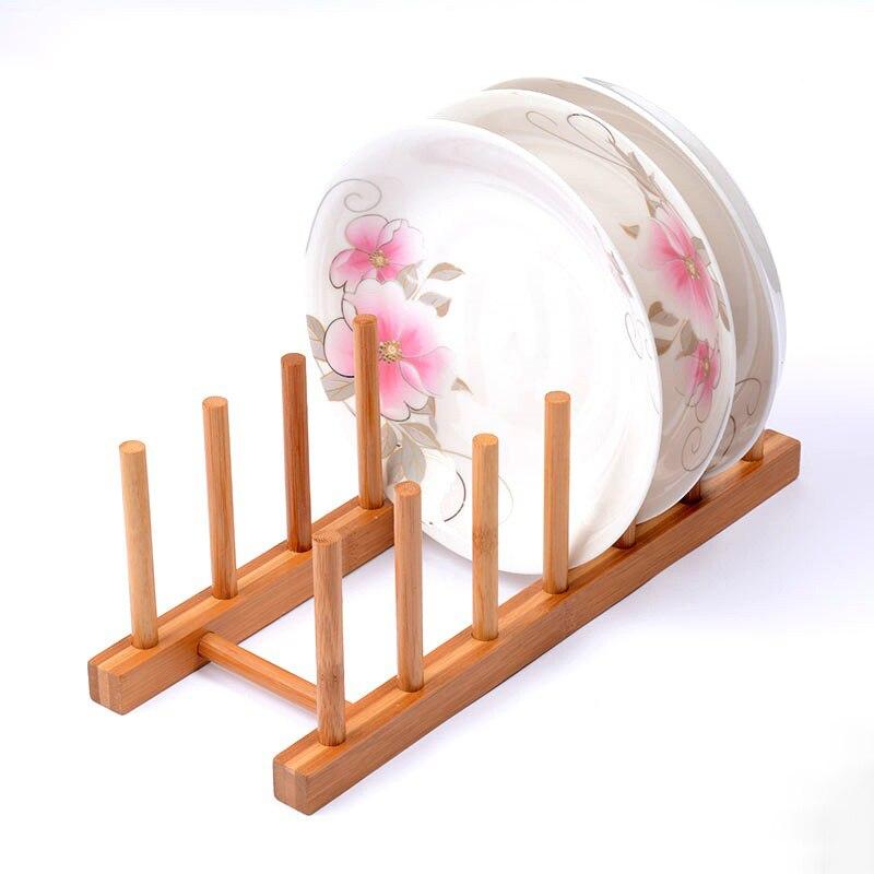 2017 деревянный крылом плиты стоять прочный здорового деревянное блюдо тарелка раза стойки держатель стоять сухой полка для хранения декора...