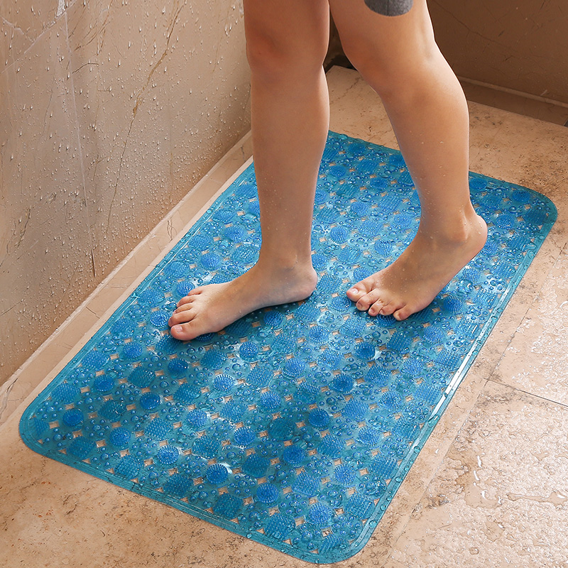 Anti Slip Bathroom Mat Large Bath Shower Foot Pad ...
