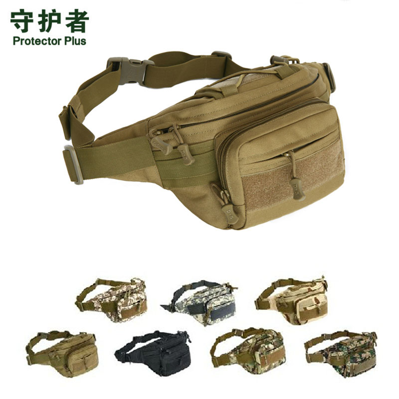 Men Tactical Sports Bag 1000D Nylon Travel Riding Motorcycle Hip Bum Belt Fanny Pack Waterproof Hiking Fishing Hunting Waist Bag