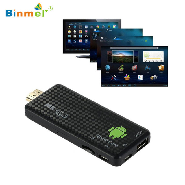 Precio de fábrica Quad Core Mini PC Android 4.4 Bluetooth HDMI WIFI Full1080P TV Box Dongle Smart TV Box dongle 3D Media Player Z7