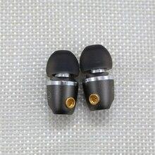 Diy mmcx interface dd dinâmico in ear fones de ouvido destacável mmcx cabo para shure fone de ouvido se215 se535 se846 para iphone